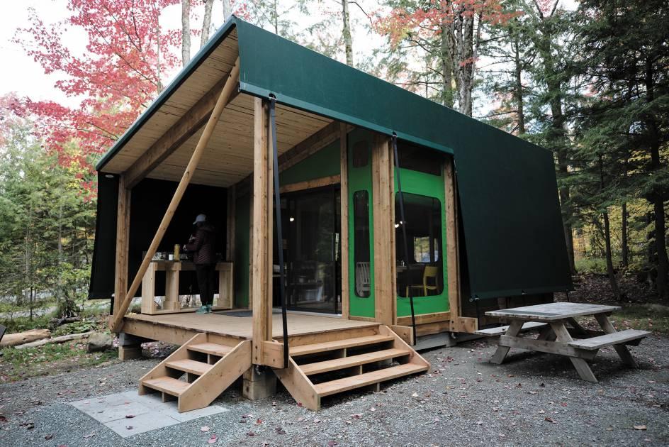 Le Québec craque pour le prêt-à-camper