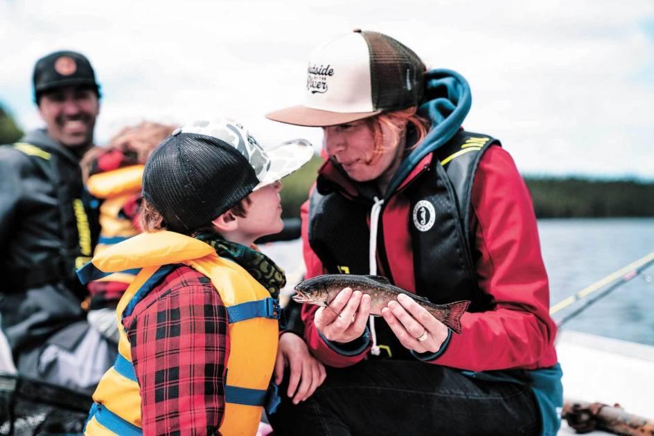 Une belle occasion de découvrir la pêche en famille