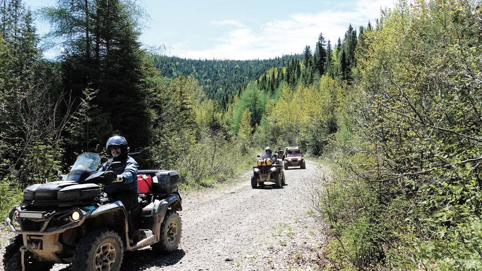 L'expérience de la Route Quad pour découvrir le Québec