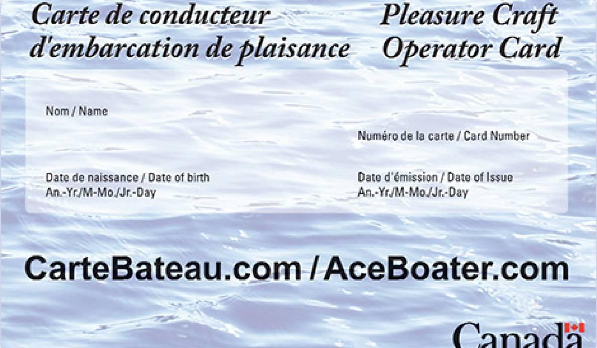Qui a besoin d'un permis de bateau ?