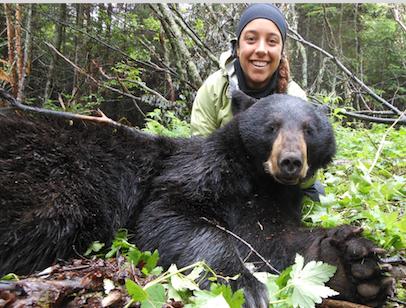 L'ours noir sort affamé de sa tanière et les baux en forêt sont menacés