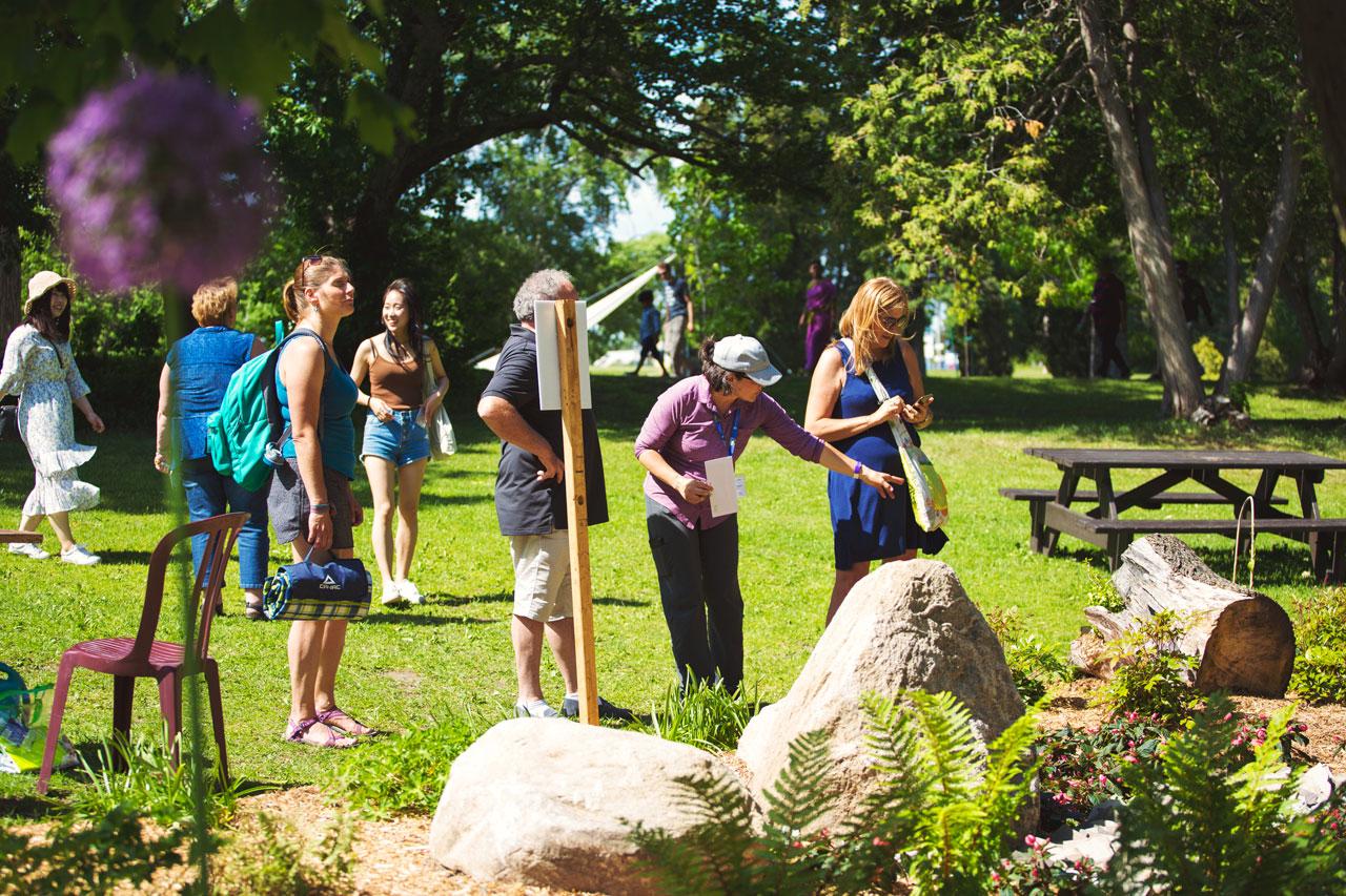 Le 2e Festival d'Art au jardin se poursuit au Parc de la Chute-Montmorency