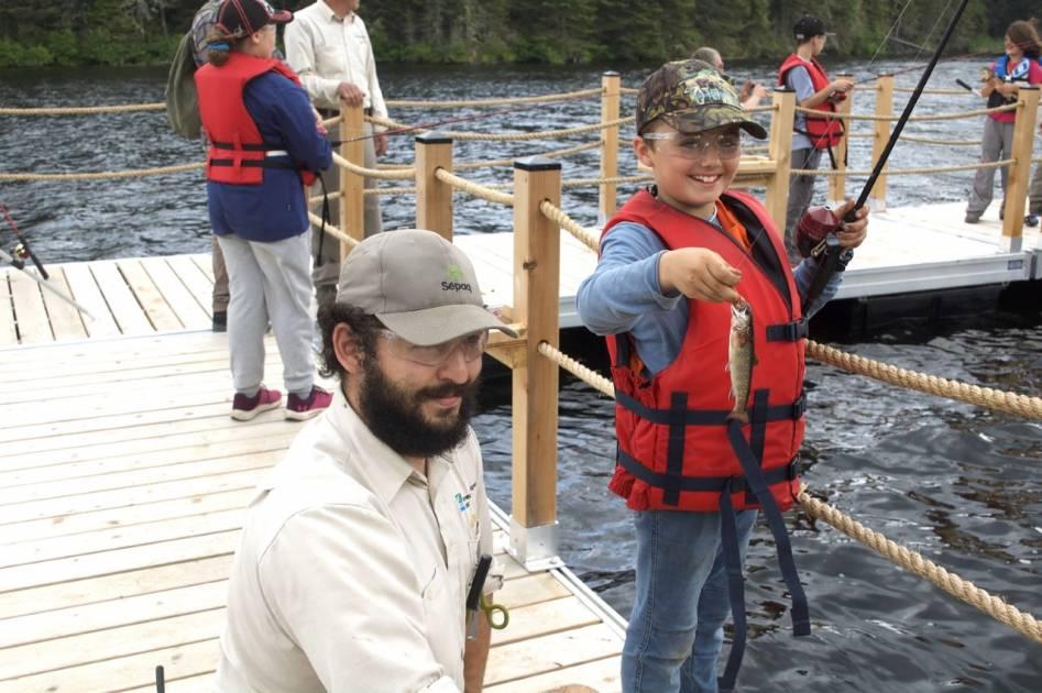60 jeunes de la relève rejoignent les rangs des pêcheurs sportifs