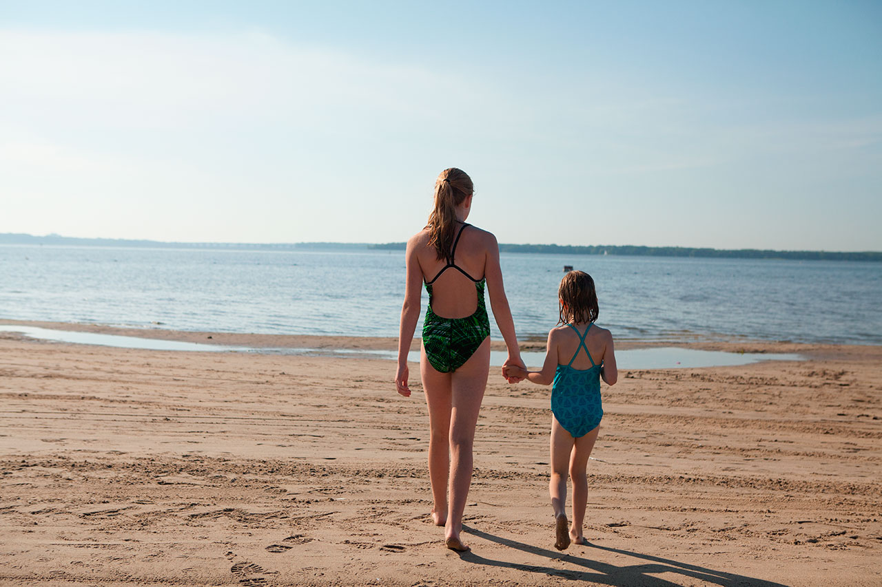 Réouverture de la plage du Parc national d'Oka