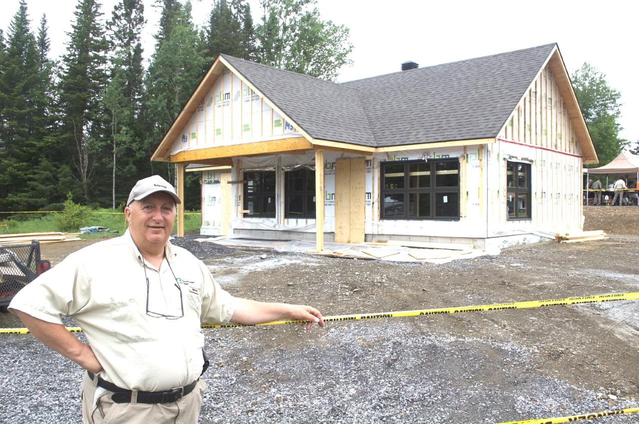 Michel Fournier développe et bâtit la réserve Rimouski depuis 13 ans!