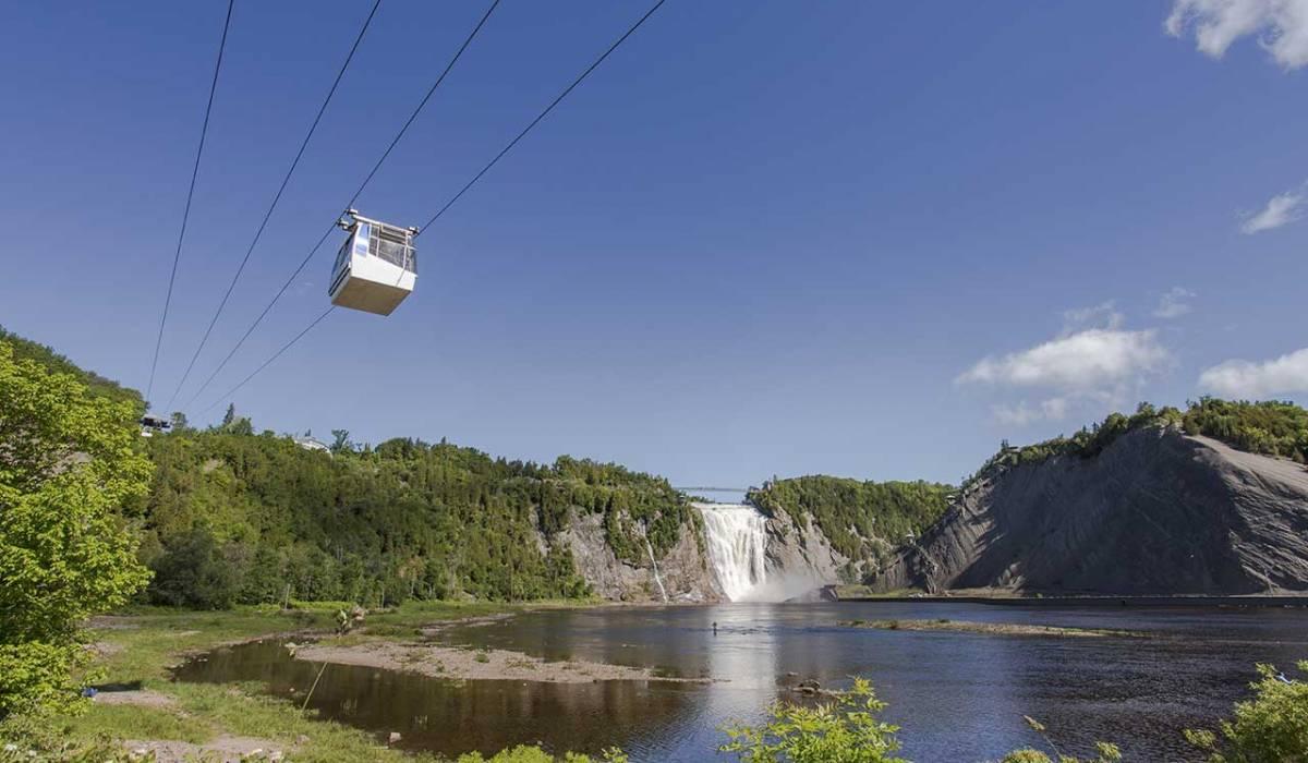 33,6 millions de dollars investis dans le Parc de la Chute-Montmorency