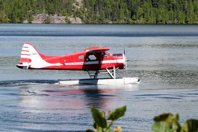 Air Saguenay: un Américain et ses fils étaient à bord de l'avion