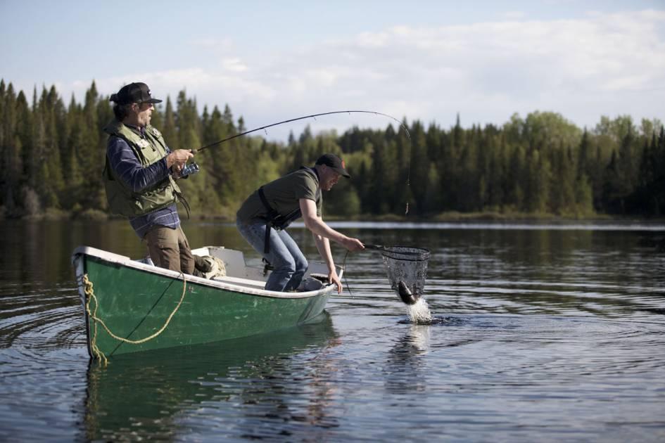 Des lacs de choix pour votre journée de pêche