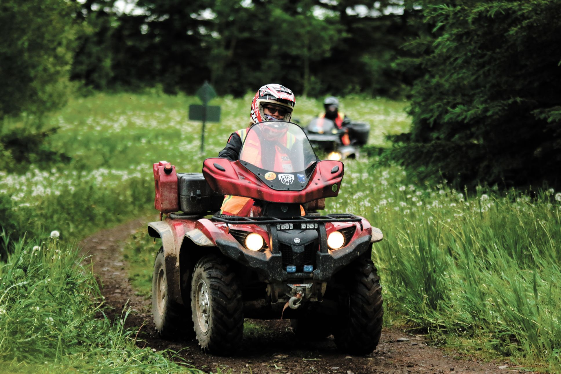 La Fédération québécoise des clubs quads met l'accent sur la sécurité