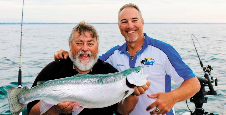 Pêcher avec le magicien du lac Ontario
