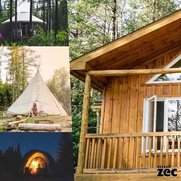 Campez dans une zec : un bon moyen d'avoir « un pied-à-terre» en forêt