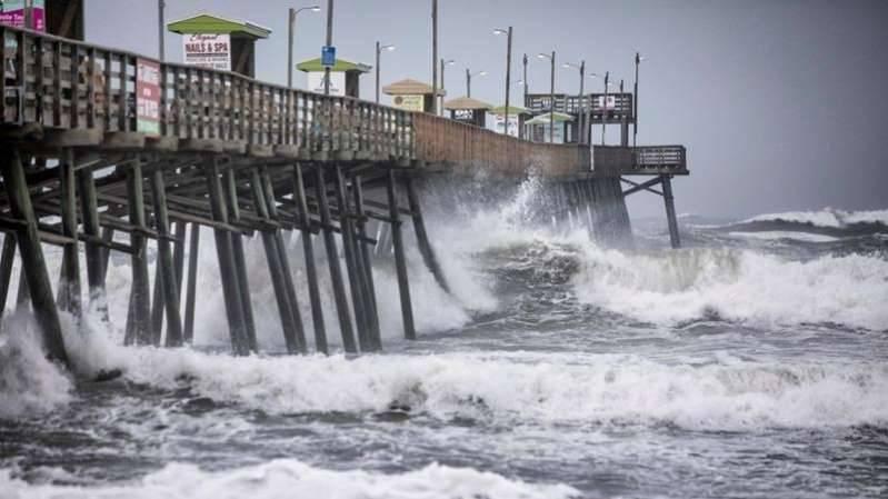 Veille d'ouragan dans certaines parties du Canada atlantique