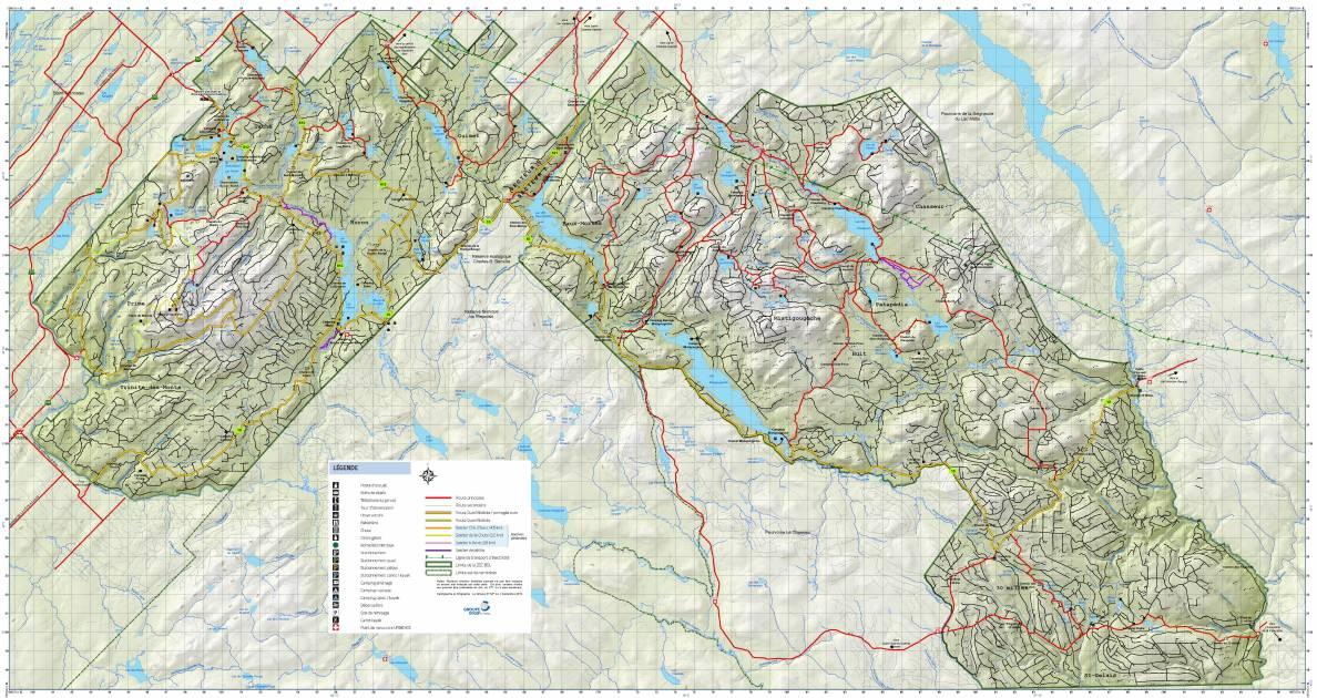 Chasse de l'orignal 2019: la ZEC-BSL compte 1 719 caches sur 1 017 km2