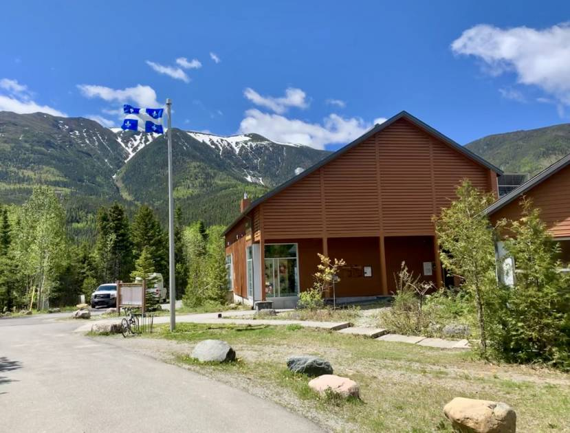 Une station de recherche montagnarde dans le parc national de la Gaspésie