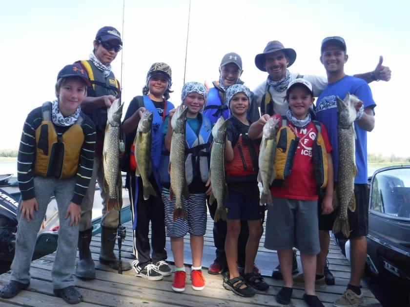 L'Académie de pêche du lac Saint-Pierre parmi les meilleures pour la relève