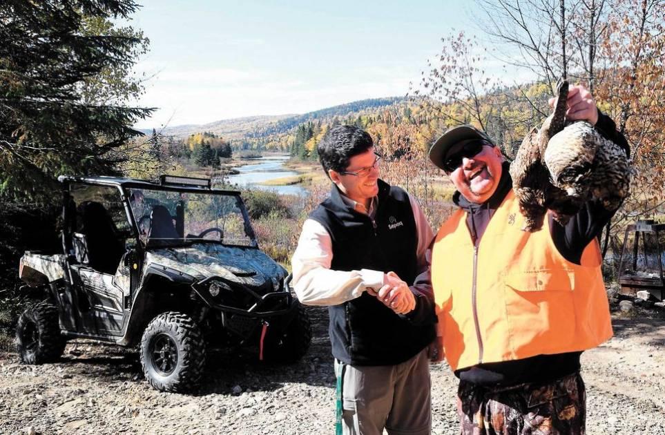 Les perdrix du Wessonneau attendent les chasseurs du Québec