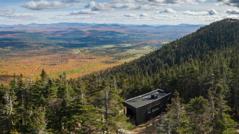 Un nouveau refuge à couper le souffle au parc du Mont-Mégantic