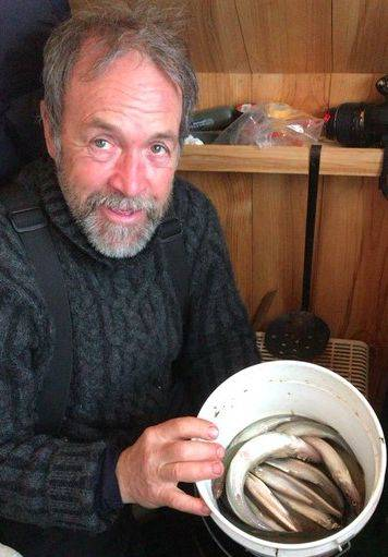 La saison de pêche blanche se prépare en face de Rimouski