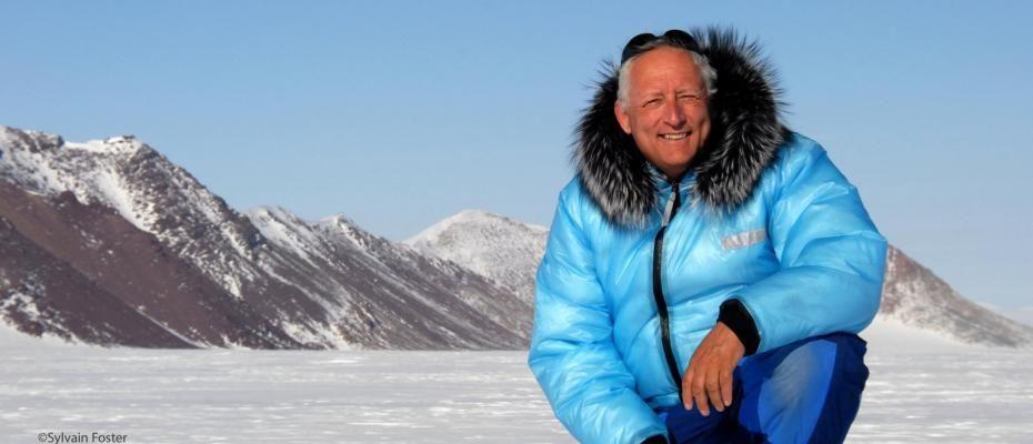 Bernard Voyer fait sa part pour sauver la planète !