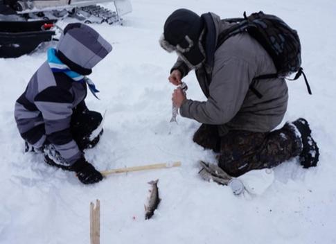 Pêche d'hiver en Outaouais: ouverture du lac Ambroise