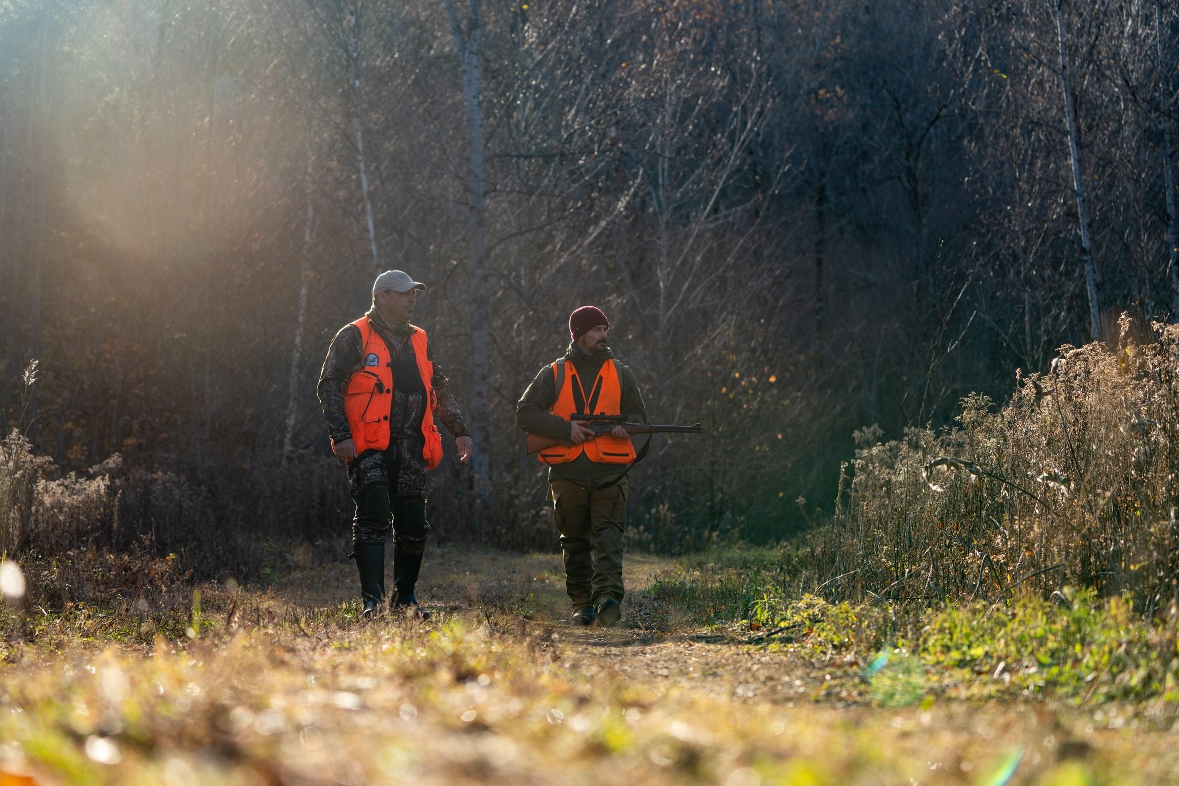 Baisse prévue des adeptes de la chasse et de la pêche