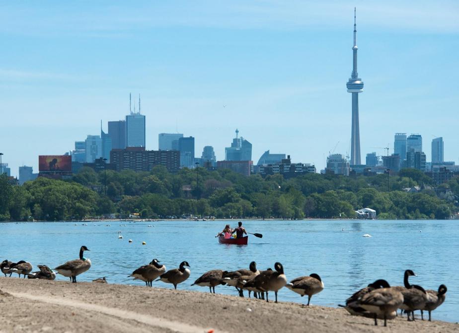 Grands Lacs: niveau d'eau anormalement élevés depuis quelque temps