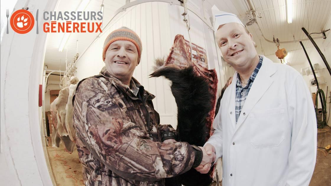 Chasseurs généreux : 7 700 livres de viande de gibier données à la communauté