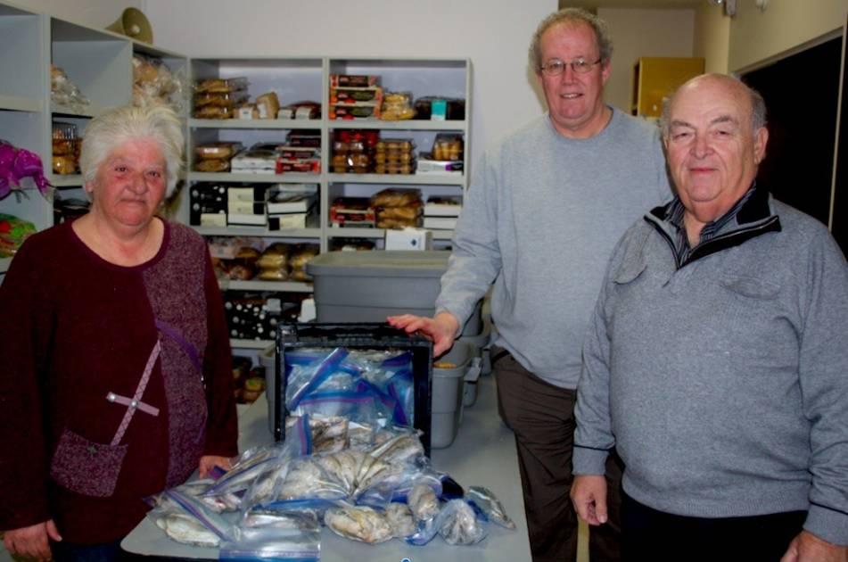 52 douzaines d'éperlans remises à Moisson Rimouski-Neigette !