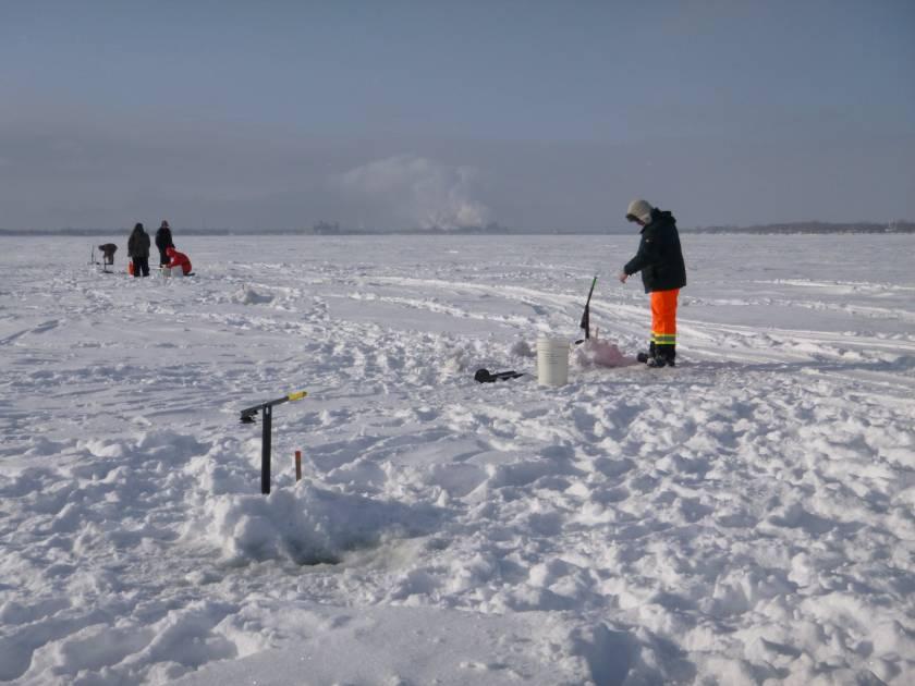 Pêche d'hiver: ouverture de la baie Clément et de la petite baie Clément