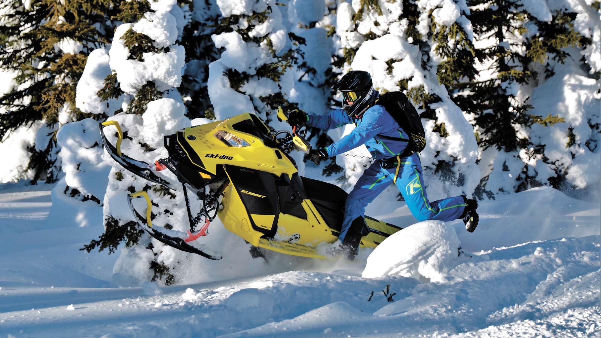 Ski-doo: encore des innovations en 2021