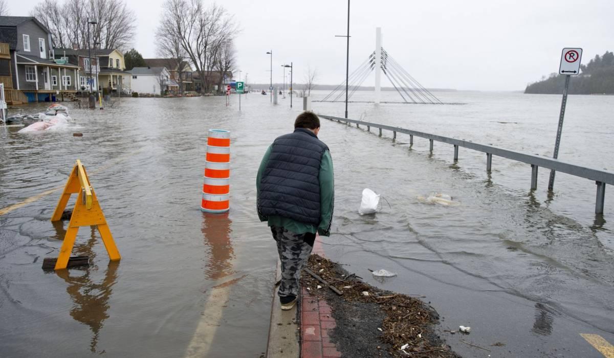 Québec: niveaux d'eau des rivières et lacs sous contrôle malgré la pluie