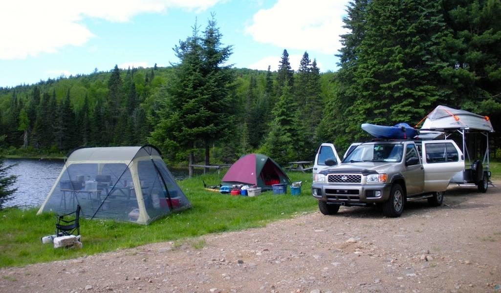 Le camping n'est pas autorisé dans les zecs
