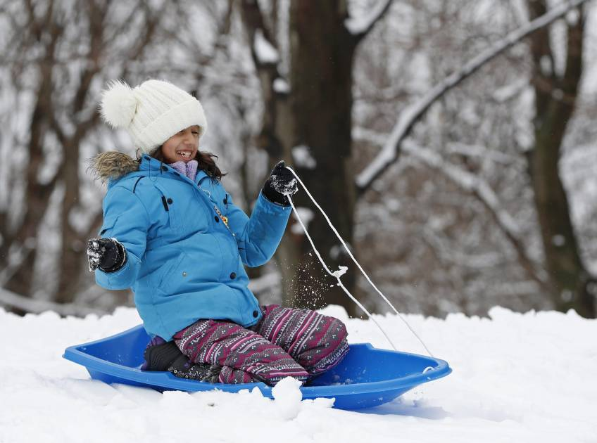 Est du Québec : jusqu'à 25 cm deneigeet des vents forts