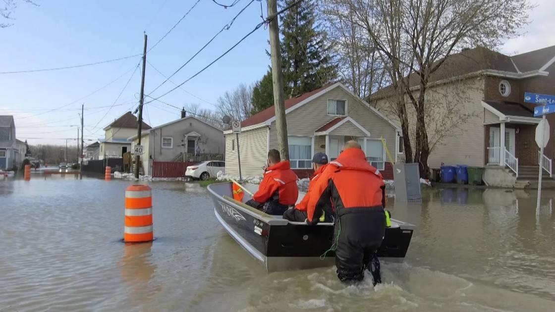 Gatineau se prépare à de possibles inondations et avertit les riverains