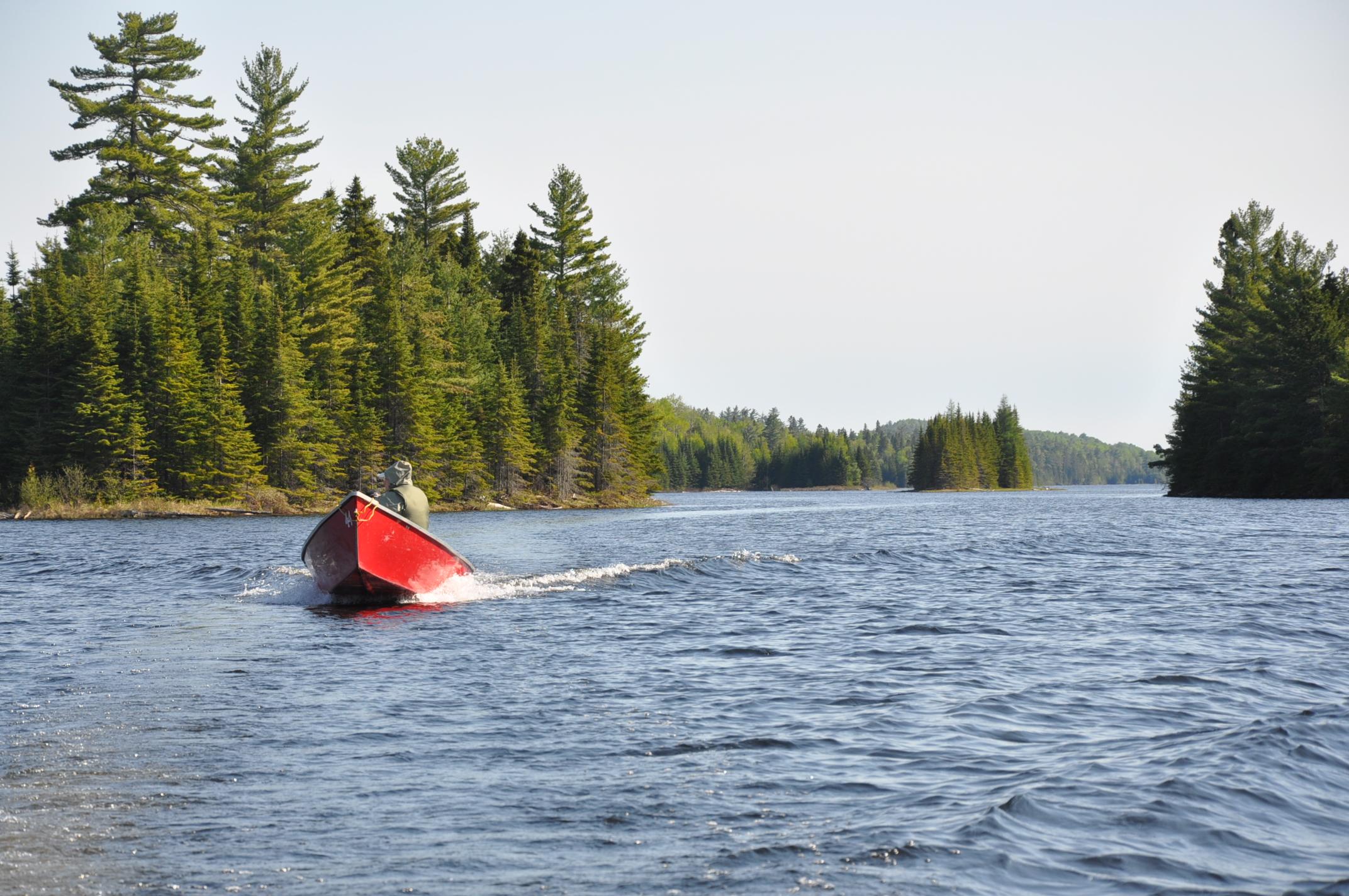 La pêche permise dans les territoires fauniques structurés, mais au quotidien