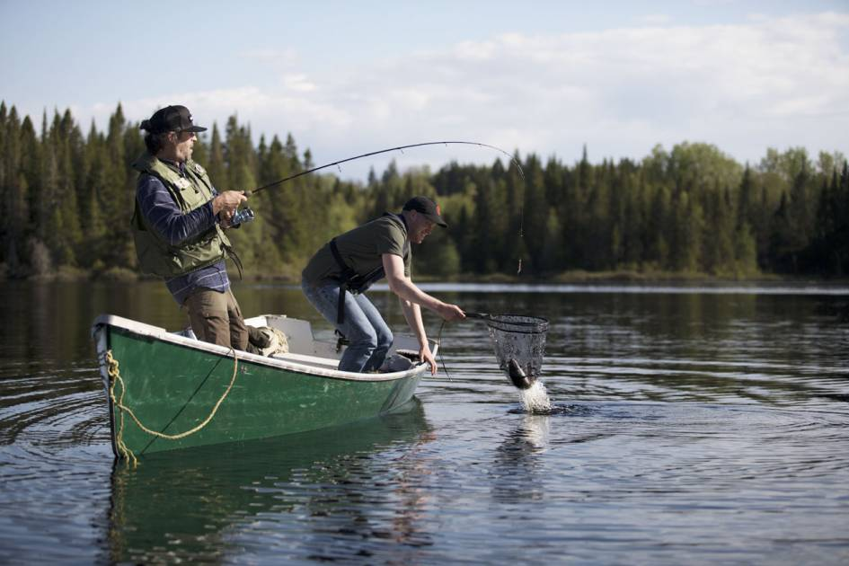 De nouvelles installations pour le confort des pêcheurs