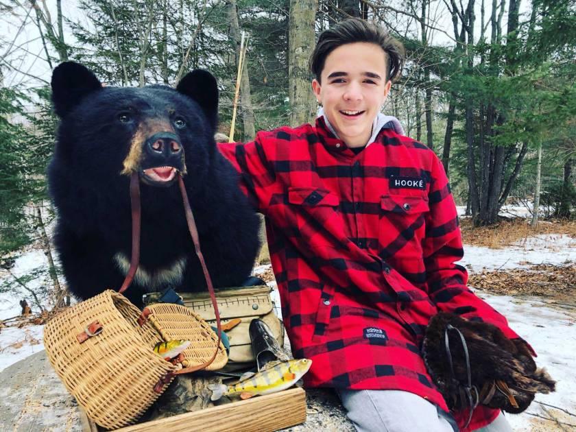 Spécialiste de l'orignal, Michel Therrien admire aussi l'ours noir