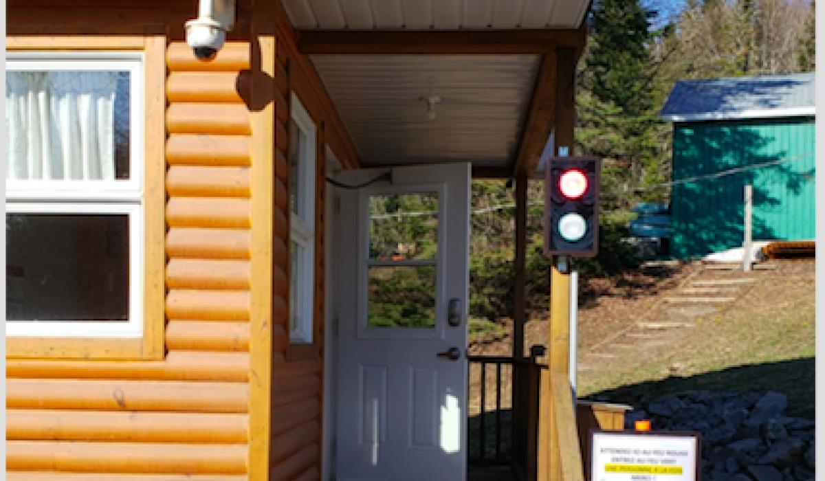 Les postes d'accueil de la ZEC-BSL sont accessibles et… «lumineux»