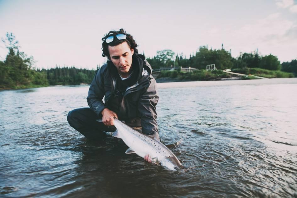 Fermeture de la pêche au saumon sur la rivière Ouelle