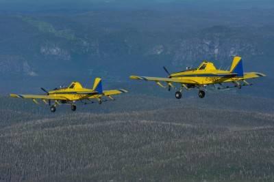 Les pulvérisation aériennes sont terminées dans l'est du Québec