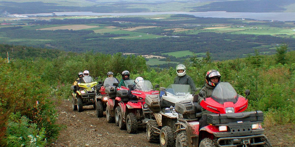 Découvrir la Gaspésie en quad
