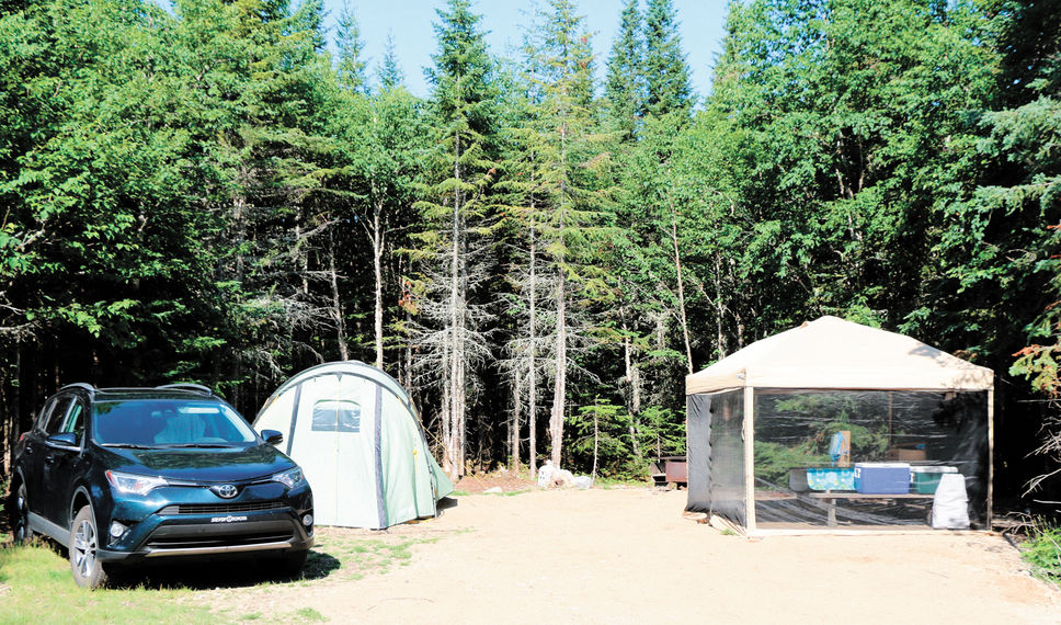 Les campeurs se font attendre à travers le Québec