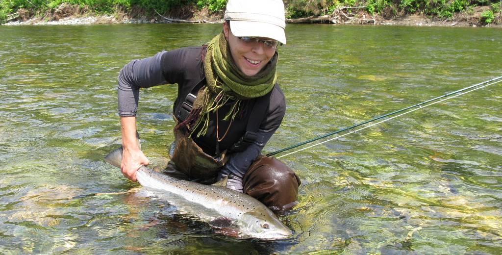 Remise à l'eau obligatoire des grands saumons sur la rivière York