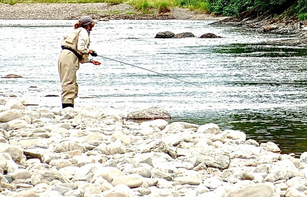 Une saison de pêche au saumon exceptionnelle sur la Sainte-Anne