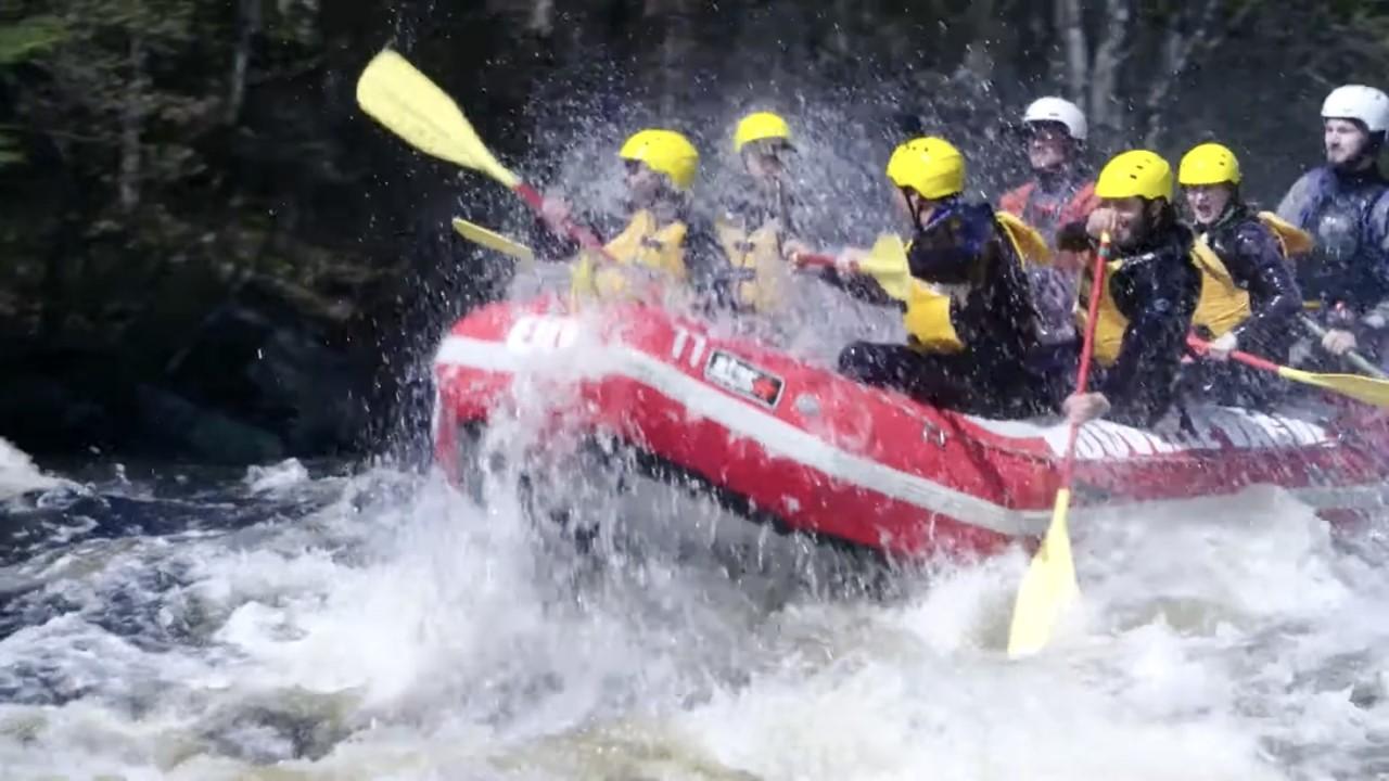 Rafting : une dose d'adrénaline à bord d'un pneumatique
