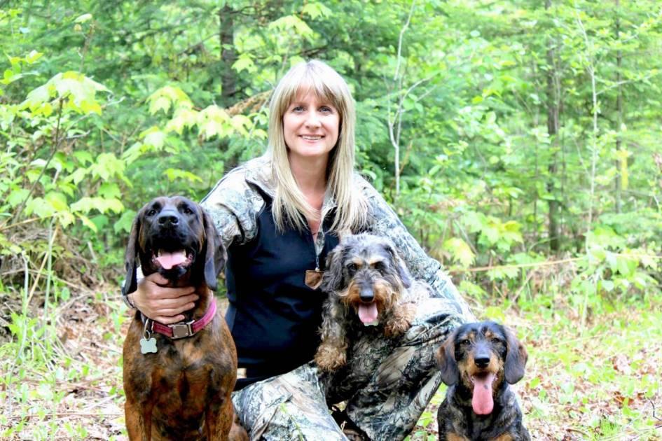 Chiens de sang : l'Association est tatouée sur le cœur de Chantal Bellemare