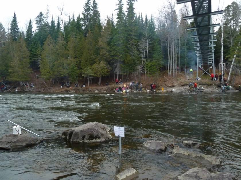 La pêche du « pointu » maintenant à dates fixes dans la rivière Touradi