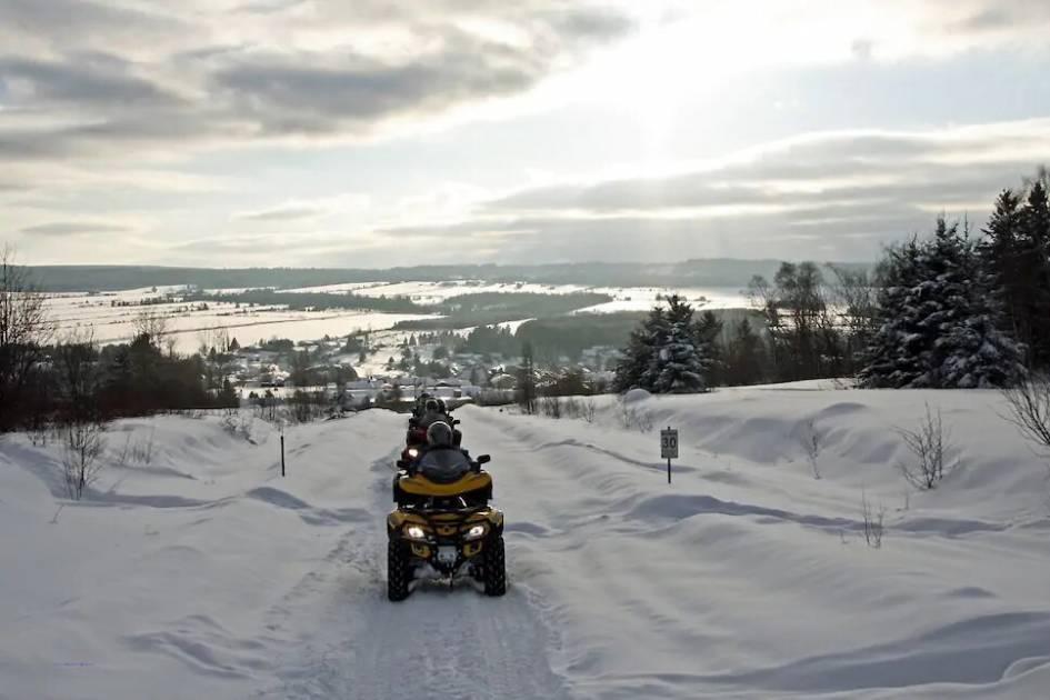 La saison du quad se prépare en Chaudière-Appalaches
