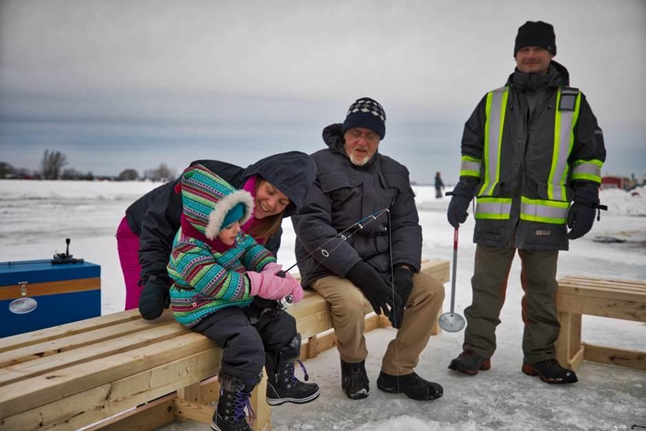 L'aide financière pour développer la pêche d'hiver est renouvelée par Québec