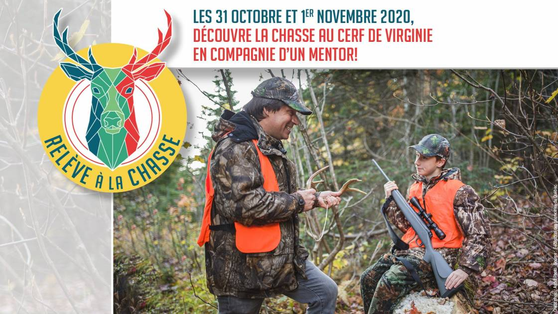 C'est la fin de semaine de la relève à la chasse au Québec